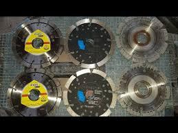 Сравнение <b>алмазных дисков</b> для штробленя бетона. Результат ...