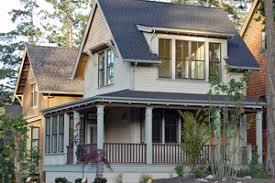 House Plans for Narrow Lots   Houseplans comSignature Cottage Exterior   Front Elevation Plan       Houseplans com