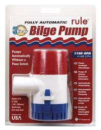 Rule <b>1100 Gph Automatic Bilge</b> Pump 12 - Buy Online in Dominican ...