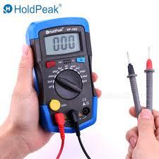 <b>HoldPeak</b> Mini Multimeter LCD <b>Digital Capacitance meter</b> Capacitor ...