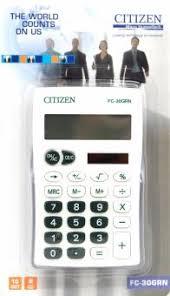 """""""<b>Калькулятор карманный CITIZEN</b> 10-разрядный (FC-30GRNBP ..."""