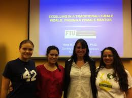 photos society of women engineers finding a female mentor