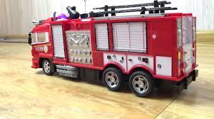 <b>Радиоуправляемая</b> пожарная <b>машина</b> Mercedes Benz - YouTube