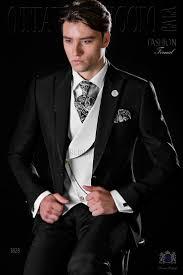<b>Italian bespoke black</b> slim suit with satin contrast | <b>men's</b> fashion in ...