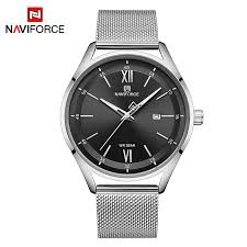 NAVIFORCE Casual Couple <b>Watches Luxury Lovers Wristwatch</b> ...