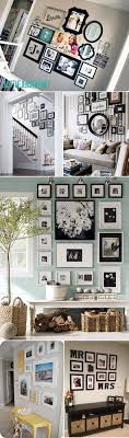 chic large wall decorations living room: unique ways of displaying photographs in your home more