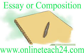 essay or composition onlineteach com