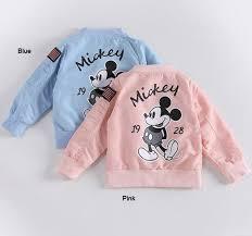 Girls Mickey Jacket Kids 1 6Y Clothing Baby Girls <b>Boys Coat</b> ...