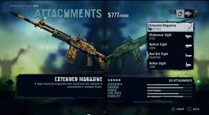 weapons pic in game