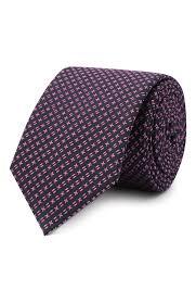 Мужской розовый <b>шелковый галстук HUGO</b> — купить за 6600 руб ...