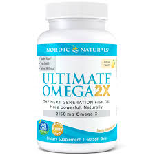 Nordic Naturals <b>Ultimate Omega 2X</b> Sfgl 60 CT NOT MAPPED ...