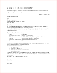 job application letter examples ledger paper examples of job application letter by yudypur