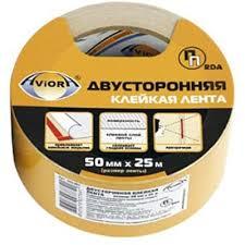 <b>Лента двусторонняя клейкая</b> Aviora 50мм/25м <b>ТК</b> (Китай) купить с ...