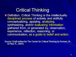 Critical Thinking  Where to Begin SlidePlayer Logic     Logic is a crucial part of critical thinking  and requires good analytical skills