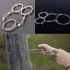 Labu Store <b>Field Survival Stainless Wire</b> Saw Hand Chain Saw ...