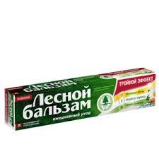 <b>Зубная паста Лесной бальзам</b> Тройной эффект | Отзывы ...