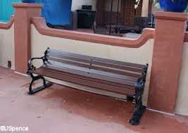 benches wood backs american