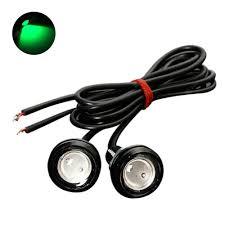 <b>10Pcs Waterproof</b> LED Car Eagle Eyes Daytime Running Lights ...