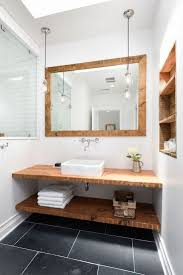 ideas custom bathroom vanity tops inspiring: slate flooring and a custom vanity of reclaimed wood hita subtle nautical note inthe master bath