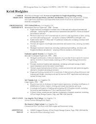 resume cargo manager resume freight manager sample warehouse resume templates dispatcher resume sample 911 dispatcher resume