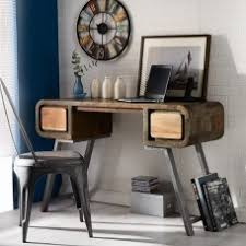 aspen reclaimed iron wooden furniture writing baumhaus wine rack lamp table