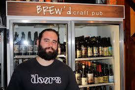 interview adam golish bar manager at brew d craft pub beer in adam golish brew d craft pub