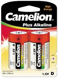 <b>Батарейка Camelion</b> LR20 Plus Alkaline BL-2