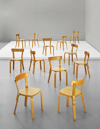 set birch plywood dining chairs