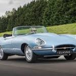 Classic Meets Current: Jaguar's E-type Zero Concept is an All-electric 1686 Series 1.5 E-type Roadster