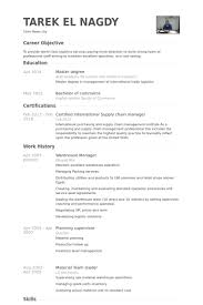 warehouse manager resume samples   visualcv resume samples databasewarehouse manager resume samples