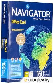 Купить <b>бумагу Navigator Paper Office</b> Card A4 160g/m2 250 листов ...