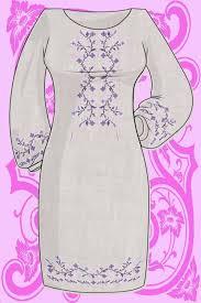 Купить <b>Заготовка</b> платья для <b>вышивки</b> бисером и крестом КБС ...