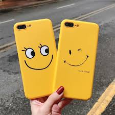 Cartoon Candy Color Smile Couple <b>Phone</b> Cases For iphone 6 Cute ...