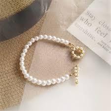 Hot style <b>fashion</b> ideas <b>pearl</b> bracelet only beautiful <b>Yang Liujia</b> ...