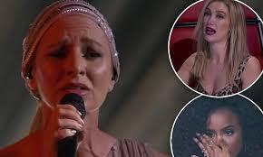 The Voice's Kelly Rowland and Delta Goodrem <b>cry</b> over Natasha ...