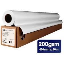 <b>HP Universal Gloss</b> Paper Roll 610mm x 30m 200gsm | Officeworks