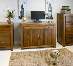 hideaway sideboard office computer storage home office hideaway linea solid walnut home furniture hideaway hidden home aston solid oak hidden