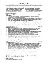 entry level financial analyst resume example analyst resume    analyst resume sample sample resume business
