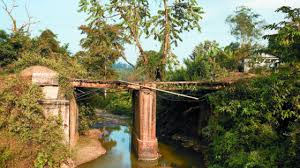 passage from following the stilwell road post magazine this bridge nick d hell s gate is in nampong in the n state of