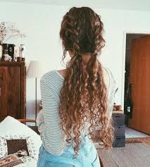 58 Chic <b>Curly</b> Hairstyles For <b>Women 2019</b>   Hair it is...   Long <b>curly</b> ...