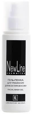 Купить <b>гель</b>-<b>пенка</b> для умывания Facial Wash Gel 150мл <b>New Line</b> ...