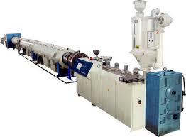 China HDPE Pipe Extrusion Machine - China plastic machinery ...