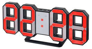 Купить <b>Часы</b>-будильник LED <b>Perfeo Luminous</b> PF-663 черные с ...