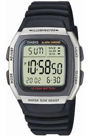 Электронные кварцевые <b>мужские</b> наручные <b>часы Casio W</b>-<b>96H</b>-<b>1A</b>