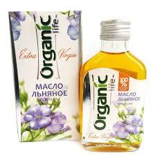 <b>Organic Life</b> масло <b>льняное</b>, 100 мл — купить в интернет ...