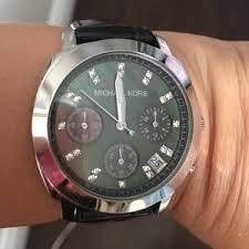 authentic michael kors black watch authentic black crystal
