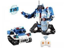"""Радиоуправляемый <b>конструктор CaDa</b> 2в1 """"<b>Полицейский</b> робот ..."""