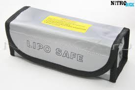 """Сумка для хранения <b>аккумуляторов</b> """"<b>Li</b>-<b>Po</b> Safe"""" (185x75x60 мм ..."""