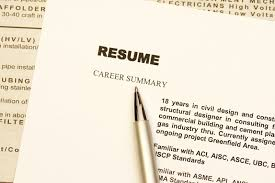 resume types chronological functional combination resume summary