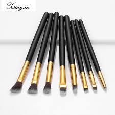 XINYAN <b>набор кистей</b> для макияжа, <b>кисти для бровей</b>, черные ...